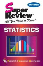 Super Reviews All You Need to Know: Statistics Super Review (2000, Paperback)