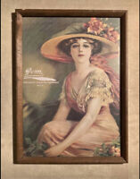 Vintage Penn Beer Consumers Brewing Co Beer Ad Picture Original Frame Phila
