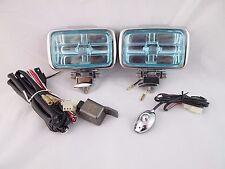 JDM UNIVERSAL 12V H3 55W FOG LIGHTS DRIVING LAMPS HARNESS KIT CAR TRUCK SUV