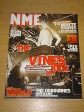 NME 2003 FEB 8 VINES WHITE STRIPES OASIS TATU RADIOHEAD