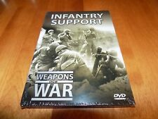 INFANTRY SUPPORT WEAPONS OF WAR Land Combat War Weapon Mortars Mines DVD NEW