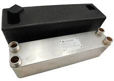 INTERCAMBIADOR de calor de placas NORDIC TEC 660-880-990-1100kW + AISLAMIENTO