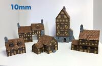10mm Wargame buildings Timber Framed Buildings set