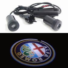 2x Luce LED proiettore LOGO ALFA ROMEO sportello porta auto car Sprint LAR2