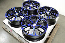 "17"" Blue Effect Wheels Rims Mini Cooper Legend Accord Lancer Altima Cube Versa"