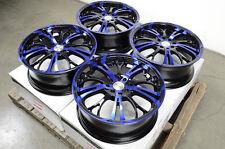 "17"" Blue Effect Wheels Rims Mini Cooper Legend Accord Lancer Altima Cube Versa"