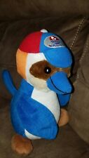 "RARE 10"" Pacific Islands Club logo tropical bird plush stuffed animal EXC"