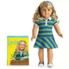 American Girl Lanie Holland 2010 Girl Of The Year 18 In Doll / Paperback Book
