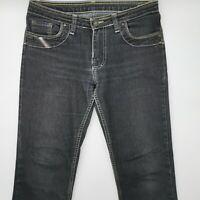 Diesel W31 L31 grau grey Damen Designer Denim Jeans Hose Mode Retro Vintage Lady