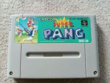 SUPER PANG SUPER FAMICOM SNES JAPAN NTSC CART