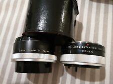 KENKO cfe 2X Teleplus per ottiche Canon FD mc4 + auto extension tube 26 cf1