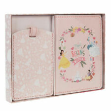 Disney Princess Passport Cover and Luggage Tag Holder Gift DI443