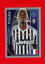 CHAMPIONS LEAGUE 2015-16 Topps-Figurine-stickers n. 243 - POGBA -JUVENTUS-New