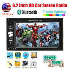 Bluetooth Double 2Din 6.2