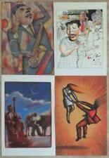 JAZZIZ PLAIN GREETING CARDS ~ SET OF 8 WITH ENVELOPES