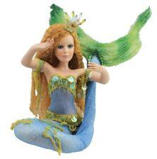 "32""H Porcelain Fantasy Mermaid Doll Nautical Collectible Figurine Sea Fantasy"