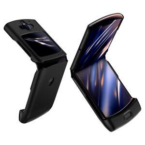 Motorola Razr Case   Spigen®[Thin Fit] Black Foldable Protective Case Cover