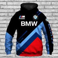 BMW/M Power/M3/M5/M2/M4/M8/X3 M/X4 M/X6 M/Top Man's Hoodie 3D-Sport Hot Gift