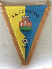 GAGLIARDETTO UFFICIALE  CALCIO S.S. CUPRENSE 1933