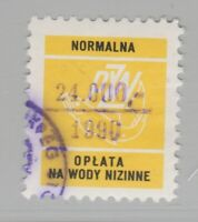Poland Fishing license Fiscal Revenue Stamp 2-2-21-7b