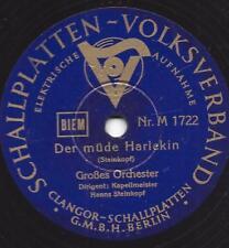ORCHESTRE Hanns Steinkopf: la fatigue Arlequin + Victoria Regia (Künneke)