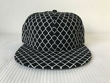 Sneaker Pimps New Era 59Fifty 5950 Fence Black Wool Fitted Hat Cap Sz 7 1/4