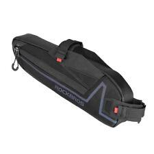 RockBros Black Waterproof Bicycle Top Tube Frame Bag Colorful Reflective Bag