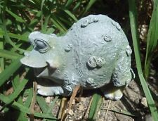 "Latex only sitting frog mold plaster concrete casting mould 3.5"" x 3"" x 2.5"