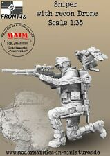 Front46 - Sniper with Recon Drone / 1:35 scale Sci Fi military model kit