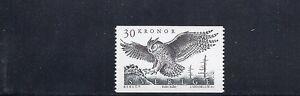 SWEDEN 1989 BIRDS of PREY EAGLE OWL BUBO BUBO (Sc 1761) VF MNH