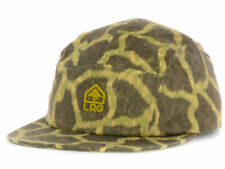 Lifted Research Group LRG Savages Animal Print 5 Panel Snapback Camper Cap Hat