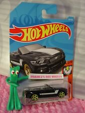 2015 FORD MUSTANG GT CONVERTIBLE #291✰Black✰MUSCLE✰2018 i Hot Wheels WW CASE M/N