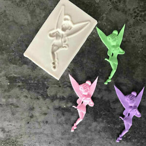 FAIRY Angel Girl Silicone Fondant Cake Topper Mold Chocolate Candy Baking Mould