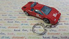 Diecast Lamborghini Countach Pace Car Red Toy Car Keyring Keychain RECORDED DEL