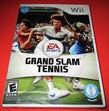 Grand Slam Tennis Nintendo Wii *Factory Sealed! *Free Shipping!