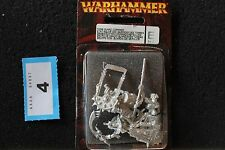 Games Workshop Warhammer Tomb Kings Tomb Guard Command Metal Figures Fantasy