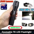 3500 Lumen 5 Modes CREE XM-L T6 LED Torch Powerful 18650 Flashlight Lamp Light