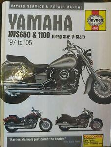 HAYNES MANUAL NUMBER 4195 YAMAHA XVS650 & 1100 (DRAG STAR, V-STAR) 1997-2005