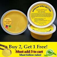 Organic African Shea Butter 8oz YELLOW From Ghana Natural UNREFINED Pure