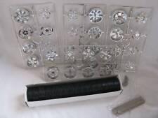 felgenset Felgen Set Reifen SpinneRS 1/18 Chrom 4er Set Schwarz Modellauto Model