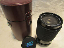 Carl Zeiss 80-200 mm 80-200 mm ZOOM + MACRO OBIETTIVO M42 per fotocamera digitale MC + VALIGETTA
