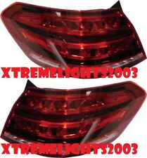 MERCEDES BENZ E CLASS 2015 2016 RIGHT LEFT TAIL LIGHTS TAILLIGHTS REAR LAMP PAIR
