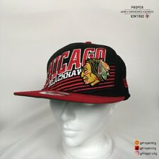 Chicago Blackhawks New Era Snapback Hat Vintage Hockey