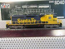 Kato H0 37-6327 US Diesellok EMD SD40 Santa Fe #5003 analog in OVP