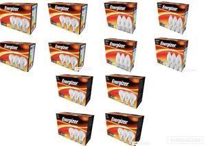 30w 46w 77w Energizer Clear Halogen Bulbs GLS Candle Golf Ball 40w 60w 100w
