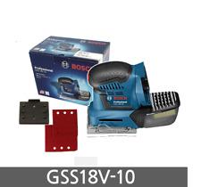 BOSCH GSS 18V-10 PALM Sander (Body Only) Low Vibration Orbital