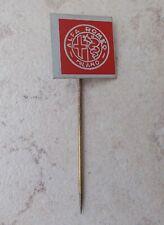 Badge Vintage Pins Auto Voiture ALFA ROMEO Italie ancien 1960s Milan rouge