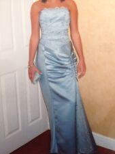 Tortoise Lace Silver/Blue Dress - swarovski crystal /Prom - RRP £425