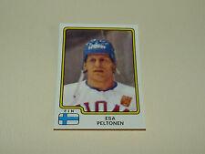 N°170 PELTONEN SUOMI-FINLAND PANINI HOCKEY 79 ICE GLACE 1979 CHAMPIONNAT MONDE