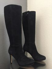 Nine West Okena Boots Black Knee High Suede 5.5 Brand New